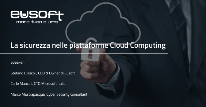 La sicurezza nelle piattaforme cloud computing